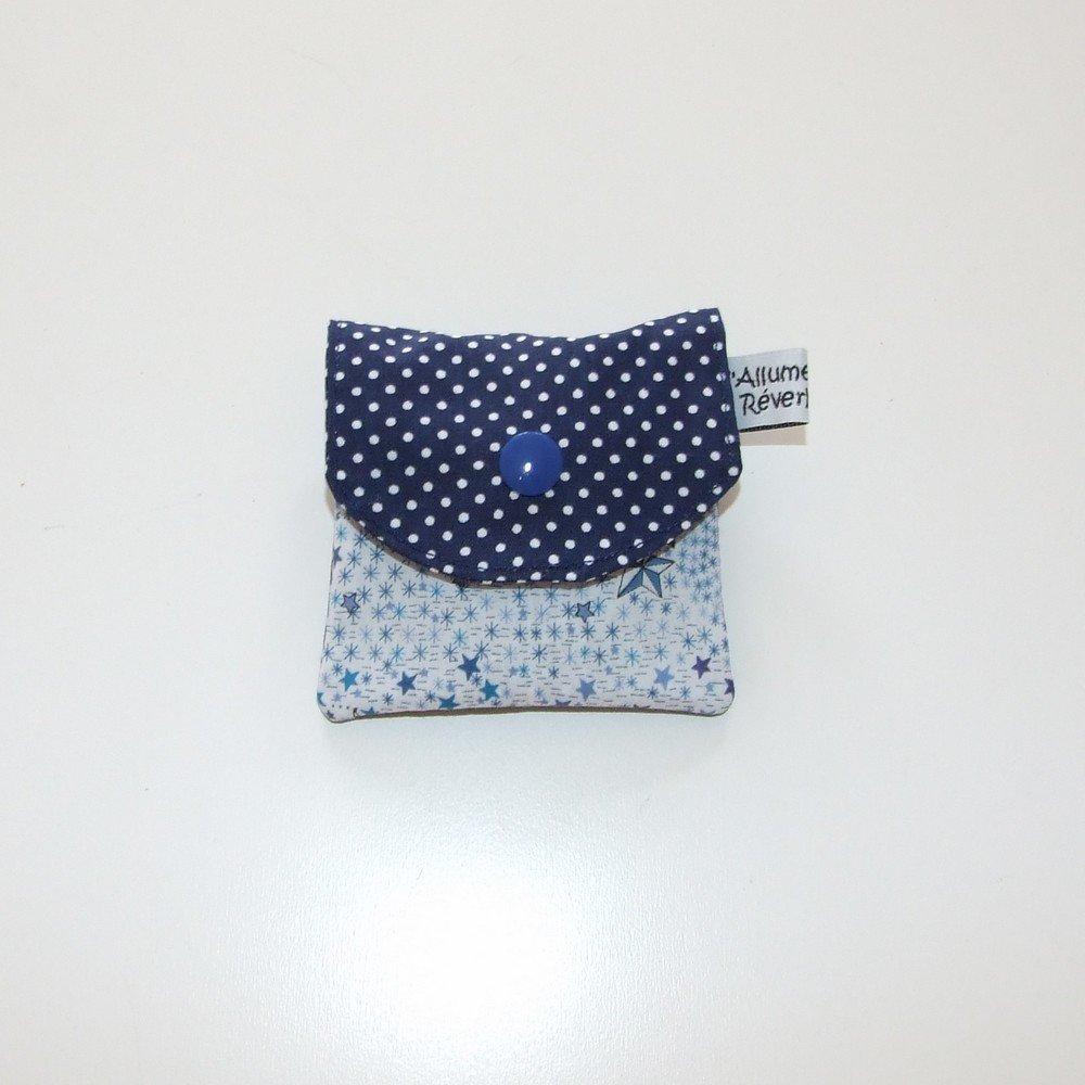 Dent pour la petite souris, imprimé étoiles Liberty et pois--9995365881795
