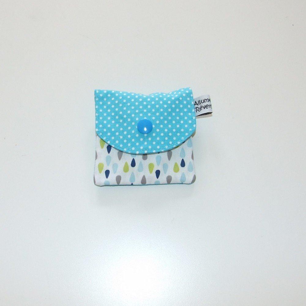 Dent pour la petite souris, imprimé gouttes et pois--9995365880361