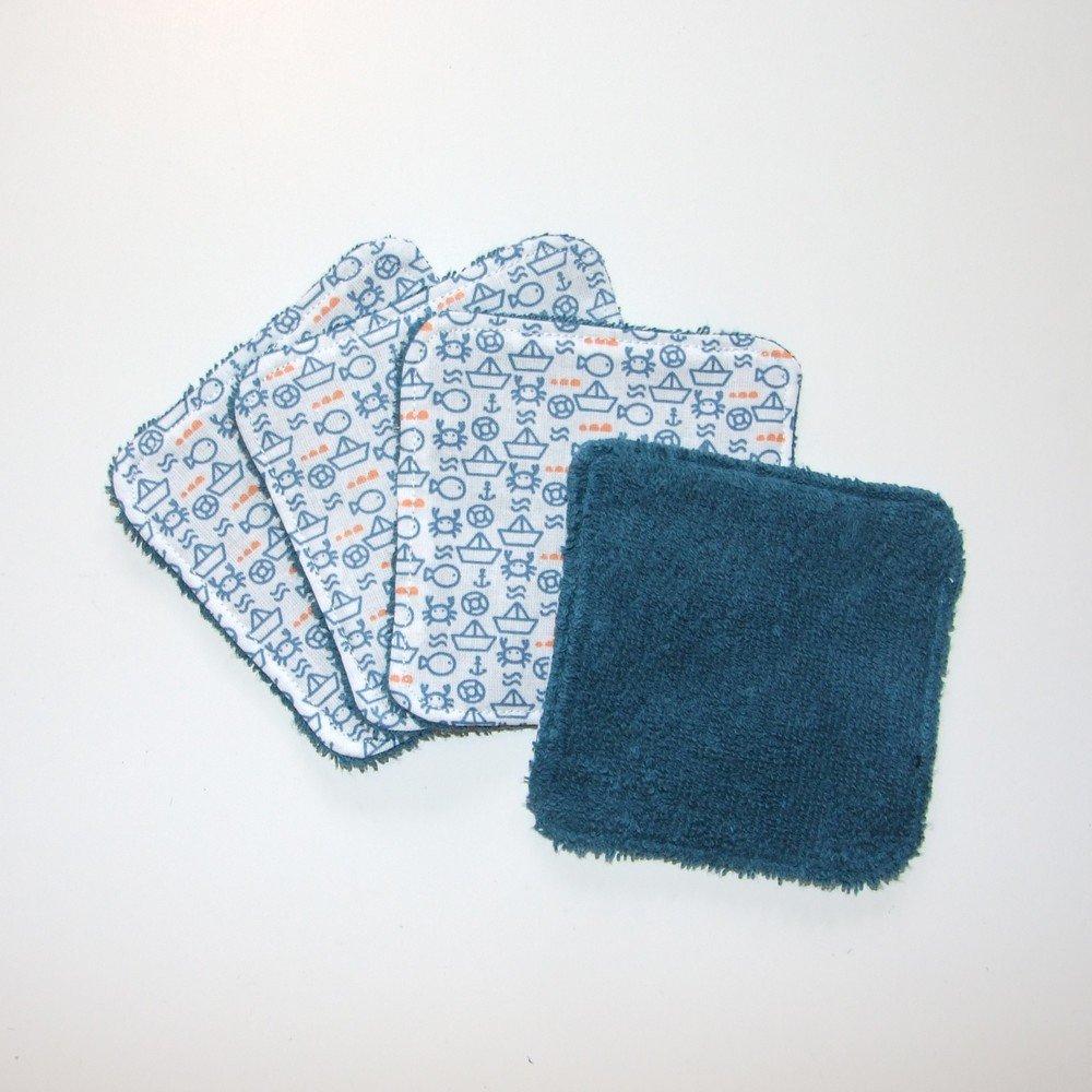 Lot de 16 lingettes lavables--9995363232247