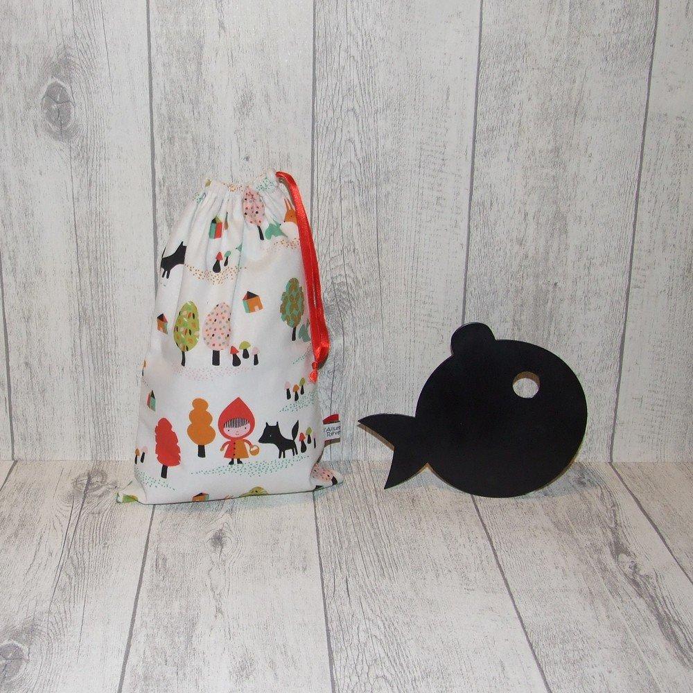 Pochette imperméable, mini sac de piscine Chaperon rouge--9995628486873