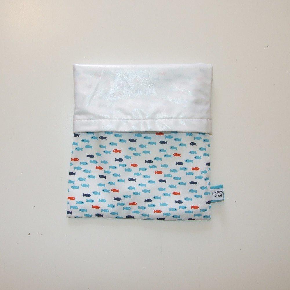 Pochette imperméable, mini sac de piscine petits pissons--9995628490597