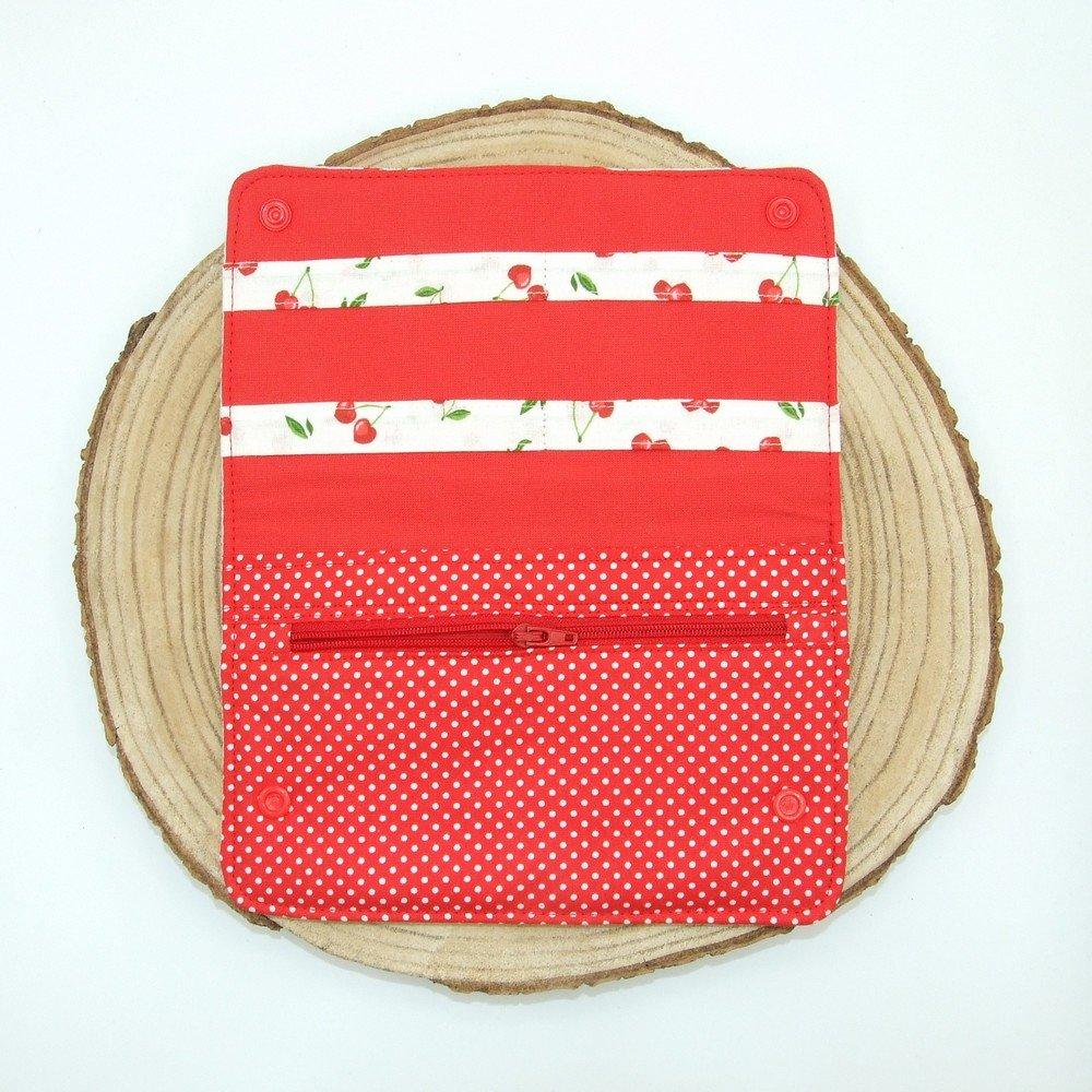 Pochette à barrettes -cerises---9996194401086