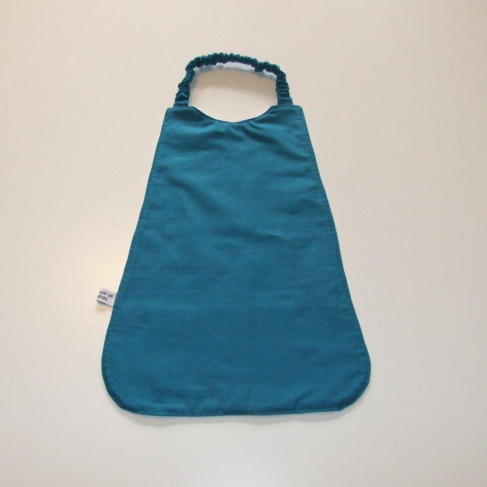 Serviette élastique imprimé baleines--9995175806711