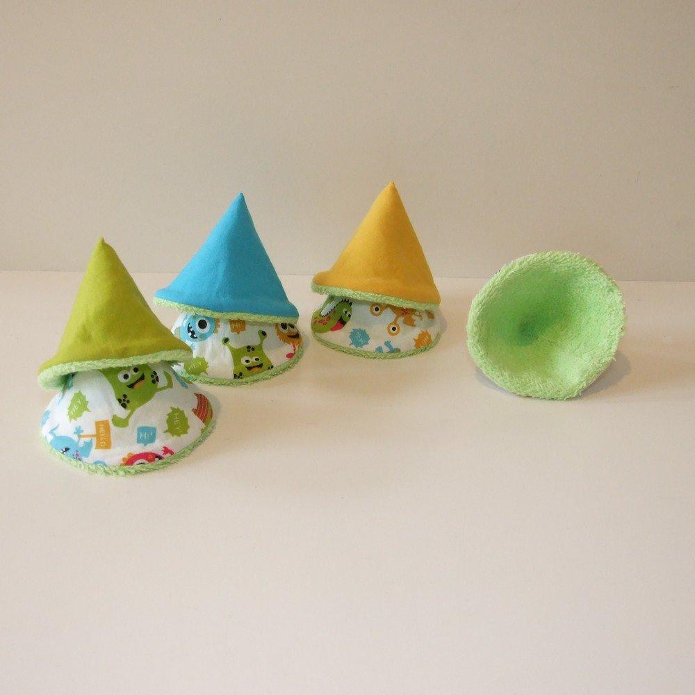 Tipis à pipi imprimé petits monstres colorés--9995160970809