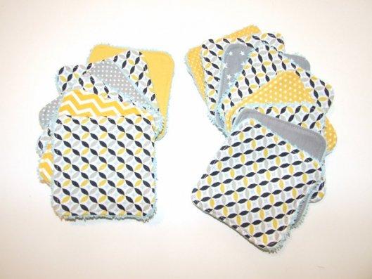 Lingettes lavables x14