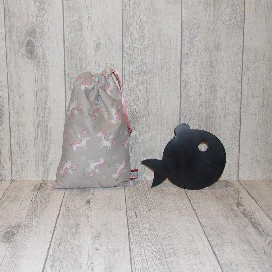 Pochette imperméable, mini sac de piscine licornes